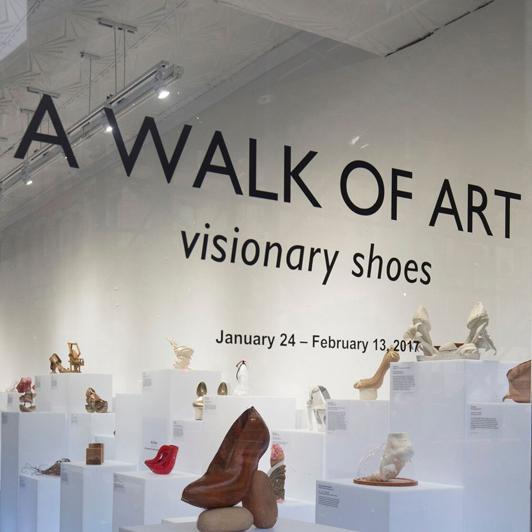 A Walk Of Art Visionary Shoes Bezalel Academy Of Arts